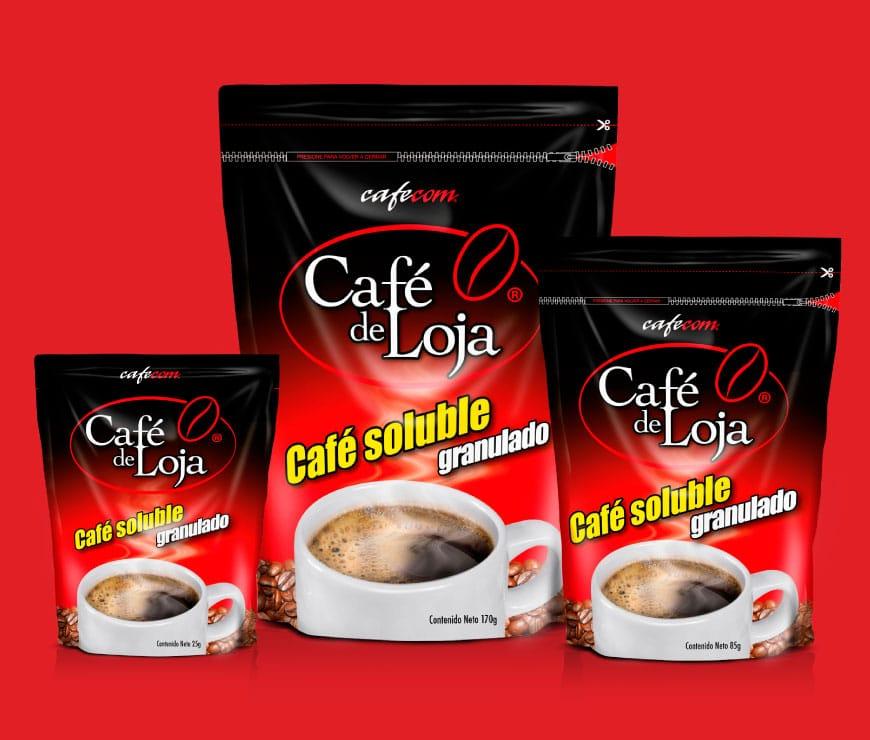 Café de Loja Soluble Granulado
