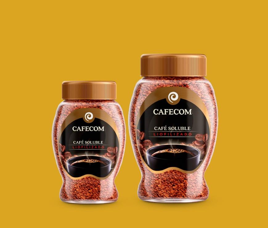 Cafecom Café Soluble Liofilizado