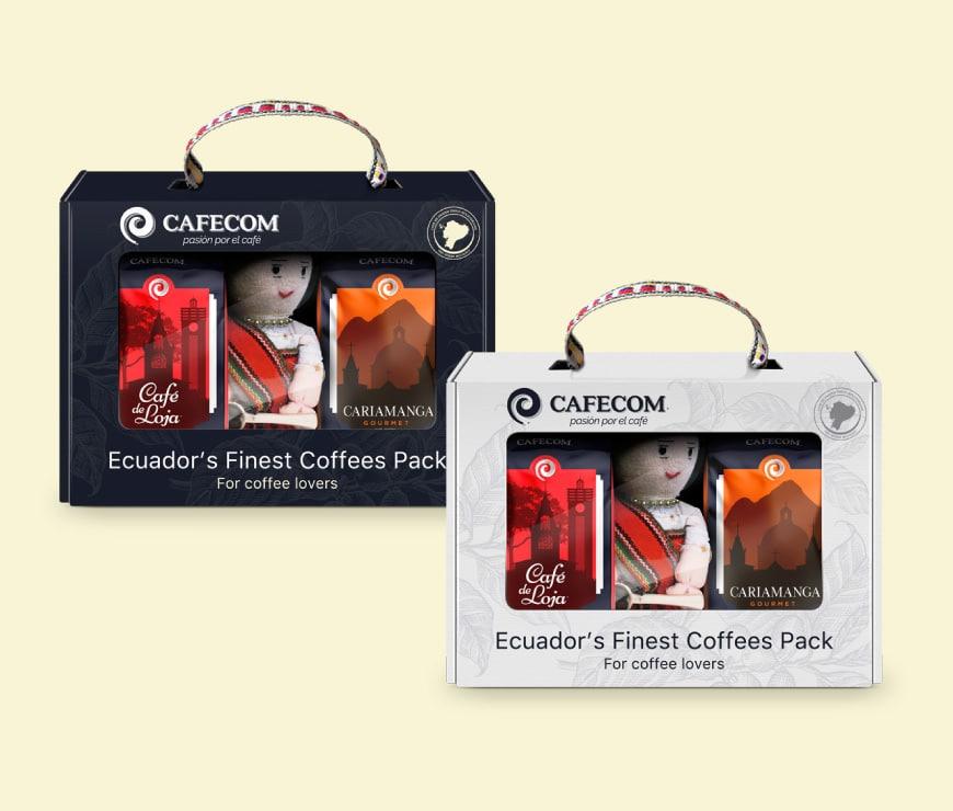 Ecuador's Finest Coffees Pack